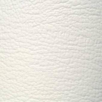 Faux leather White (L x W) 1400 mm x 750 mm Sinuslive 1 pc(s)