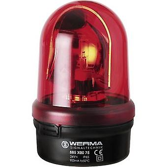 Werma Signaltechnik Emergency light 885.100.75 885.100.75 Red Emergency light 24 V AC, 24 V DC
