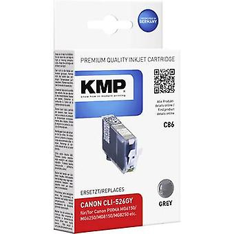 KMP Ink replaced Canon CLI-526 Compatible Grey C86 1515,0041