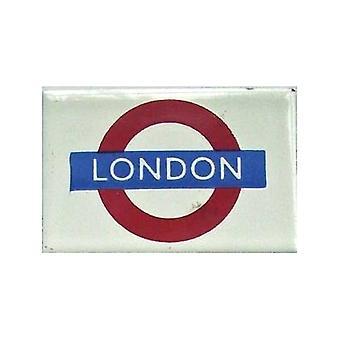 ' Londyn '' Londyn podziemne Rondo szkliwa magnes na lodówkę