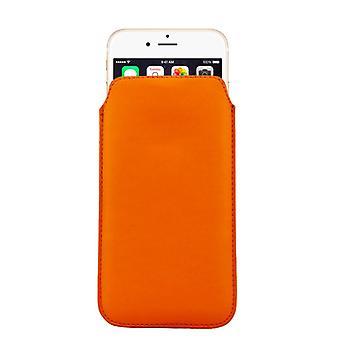 Caso de diapositiva de bolso de la caja móvil Orange