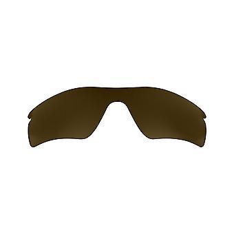 SeekOptics Replacement Lenses for Oakley RADARLOCK PITCH Polarized Brown UV400