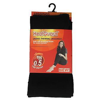 Damen Heatguard Thermal Leggings 140 Denier Stil - SK134