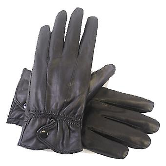 Ladies Thermal Lined Soft Leather Warm Winter Dress Gloves In Box