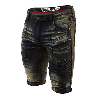 Nobel Jeans Denim Short Mens Style : S15