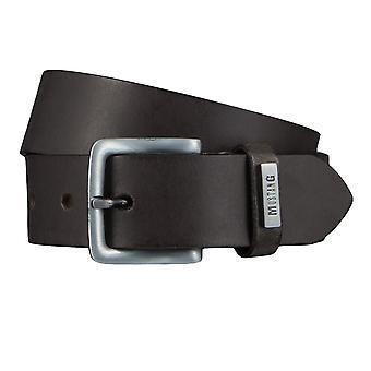 Мустанг Ремни мужские ремни кожаные джинсы пояса Браун 4339