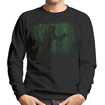 Original Stormtrooper Matrix Silhouette Men's Sweatshirt