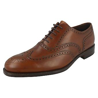 mens Loake Evolution Line inteligente Brogues Bailey