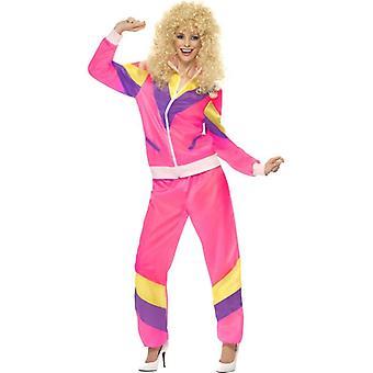 Smiffy ' s 80 ' s výška módního kostýmu