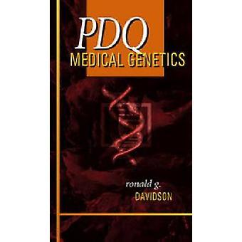 PDQ Medical Genetics by Ronald G. Davidson - 9781550091786 Book