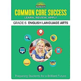 Barron's gemeenschappelijke kern succes rang 6 Ela werkmap (Core succes werkmap)