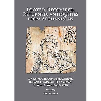 Plundrade, återvinns, återvände: Antikviteter från Afghanistan: A detaljerad vetenskaplig och bevarande av en...