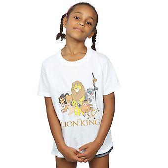 Disney meisjes de leeuwenkoning Groep T-Shirt