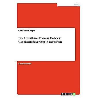 Der Leviathan  Thomas Hobbes Gesellschaftsvertrag in der Kritik by Knape & Christian