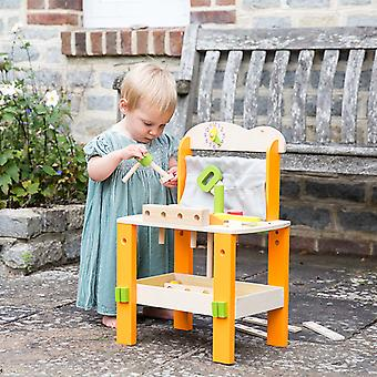 Classic World - Tool Bench/Workbench with Tools for Budding Little DIY Handymen, Construction Toy