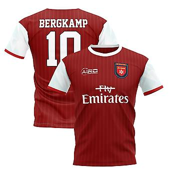2020-2021 Dennis Bergkamp Home Concept Fußball Shirt - Erwachsene Langarm
