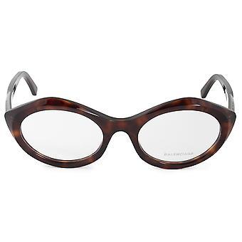 Balenciaga BA 5078 054 52 إطارات نظارات نظارات القط البيضاوي