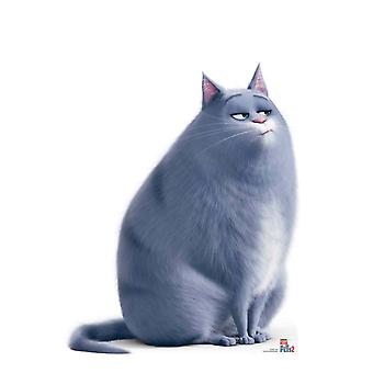 Chloe Tabby Cat from The Secret Life Of Pets 2  Cardboard Cutout / Standup