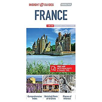 Insight Guides Travel Map France - Map of France by Insight Guides -