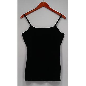 Liz Claiborne New York Top Essentials Sleeveless Scoop Neck Black A264114