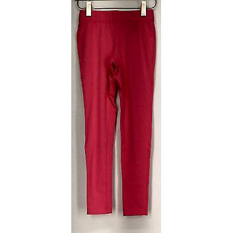 Slimming Options for Kate & Mallory Leggings Banded Waist Dark Pink A408576