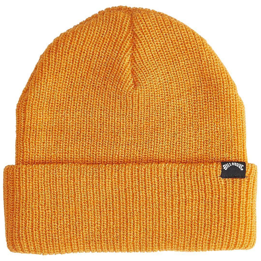 Billabong Knitted Cuff Beanie ~ Arch orange