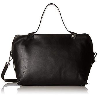 ECCO skulpterad handväska-Henkeltasche Donna Schwarz (svart) 21x25x34 cm (L x H D)