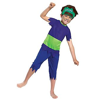 Boys Frankie Mash Costume - Super Monsters