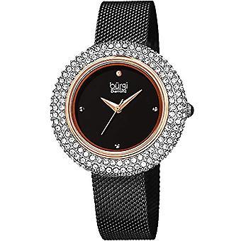Burgi Clock Woman Ref. BUR220BKR