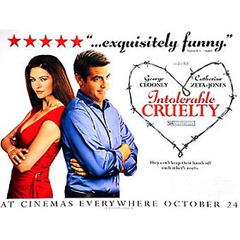 Intolerable Cruelty (Advance) Original Cinema Poster
