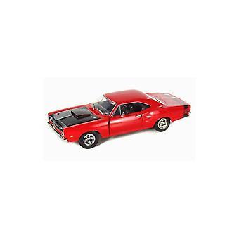 MotorMax American Classics - 1969 Dodge Coronet Super Bee Red 1:24