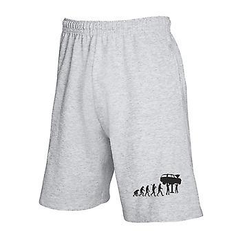 Grey jumpsuit shorts gen0296 mechanic evolution dark back