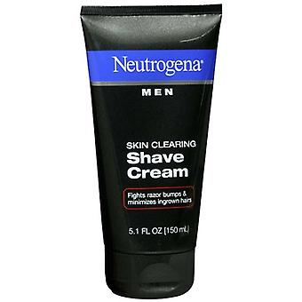 Neutrogena men skin clearing shave cream, 5.1 oz