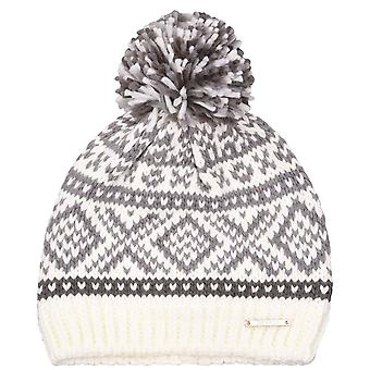 Nevica Womens Ladies Banff Soft Cosy Warm Knit Beanie Bobble Winter Snow Hat Cap