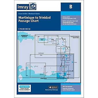 Imray Chart B  Martinique to Trinidad Passage Chart by Imray