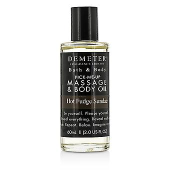 Demeter Hot Fudge Sundae Massage & Body Oil 60ml/2oz