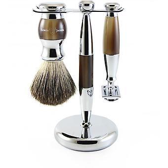 Sett barbering 3 PI disse horn-S Curit Razor