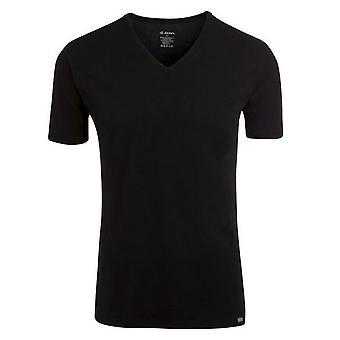 Jockey Modern Stretch V-Neck Shirt Pack of 2 - black 2XL