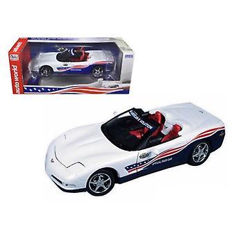 2004 Chevrolet Corvette Indy Pace Car 1/18 Diecast Model Car di Autoworld