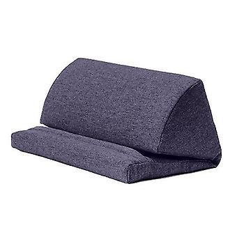 Sapphire Wool Effect iPad Kindle Tablet Boek Stand Foam Pillow Lap Rest Cushion