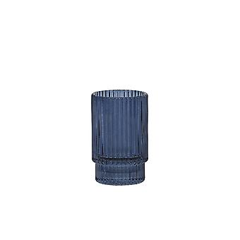 Light & Living Tealight 6x10cm - Philon Glass Blue
