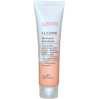 Sanctuary Spa Cleanse Radiance Exfoliator 15ml All Skin Types