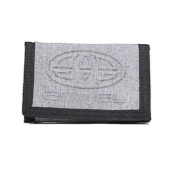 Animal Primary Polyester Wallet in Grey