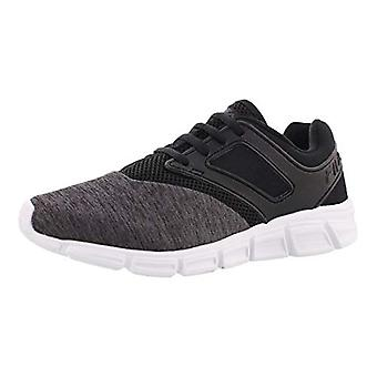 Fila Womens O-Ray Canvas Low Top Pull On Running Sneaker