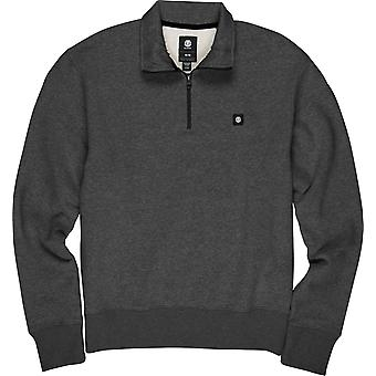 Element Men's Brushed Fleece Sweater ~ 92Track charcoal heather