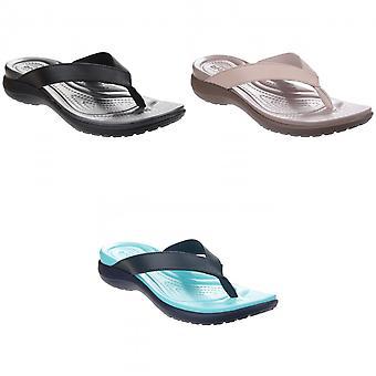 Crocs Damen/Damen Capri V Sommer Flip Flops