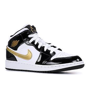 Air Jordan 1 mid se (GS)-Bq6931-007-calçados