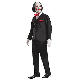 Saw Mens Billy The Puppet Costume