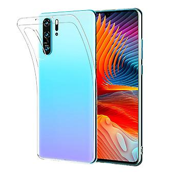 Shockproof protective clear gel case huawei p30