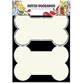 الهولندية Doobadoo الهولندية بطاقة الفن Stencil الكلب العظام A5 470.713.627